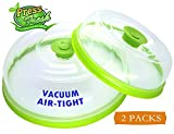 Press n Fresh Universal Vacuum Air-tight Food Sealer Container Plate Platter Lid Cover