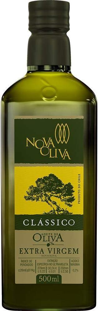 Azeite Nova Oliva Extravirgem Clássico - 500ml por Nova Oliva