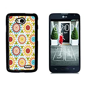Hipstr Nebula Aztec Pattern Hard Plastic and Aluminum Back Case for LG Optimus L70