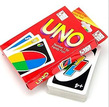 ulooie interesante creativo fiesta juego de matar el tiempo Tarjeta de juego juego de cartas UNO