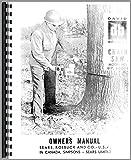 Misc. Tractors David Bradley Chain Saw Model 917-60003 (1950's) (Rare) Operators + Parts Manual