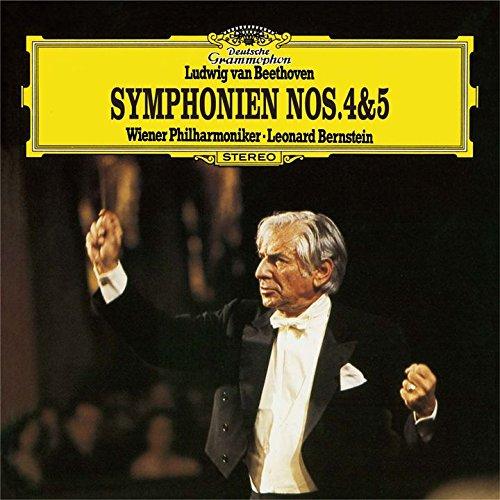 SACD : BERNSTEIN,LEONARD - Beethoven: Symphonies 4 & 5 (Limited Edition, Direct Stream Digital, Super-High Material CD, Japan - Import, Single Layer SACD)