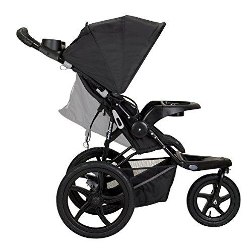 Amazon Com Baby Trend Range Lx Jogger Stroller Chrome Baby