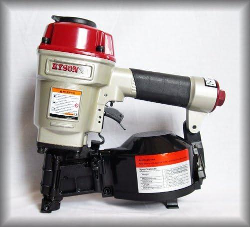 Kyson Cx Rn4500 Pneumatic Air Power Coil Roofing Nailer Nail Tool Gun Amazon Ca Tools Home Improvement