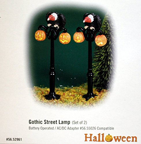 Gothic Street Lamps Set of 2 ()