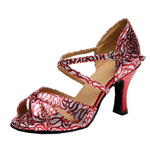 MGM Red Jazz Moderno 8cm Donna Heel Joymod e Hn4UaWH