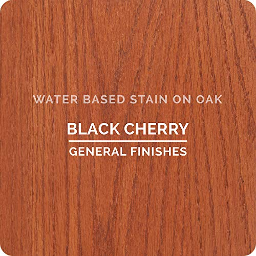 General Finishes Wkqt Water Based Wood Stain 1 Quart Black Cherry