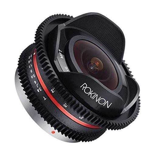 Rokinon CV75MFT-B 7.5mm T3.8 Cine Fisheye Lens for Olympus/Panasonic Micro 4/3 Cameras