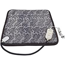 """Adjustable and Waterproof Pet 110V Electric Heating Pad Warming Mat with Chew Resistant Steel Cord for Dog Cat,17.7""""x17.7"""""""