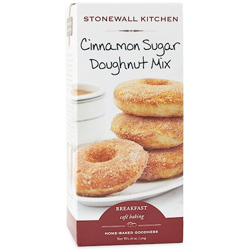 Stonewall Kitchen Cinnamon Sugar Doughnut Mix, 18 Ounces ()