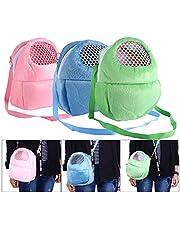 Pet Carrier Bag, Hamster Rat Cat Rabbit Pet Sling Backpack, Hedgehog Carrier, Chinchilla Ferret Sleeping Outdoor Traveling Bag Handbags Backpack