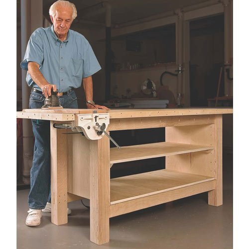 Fine Woodworking 11208 Plywood Workbench Plan by The Taunton Press (Image #1)
