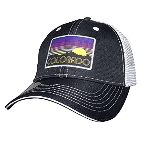 Headsweats Trucker Coloradical Hat, Black, One Size