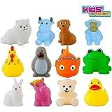 Kids Choice Chu Chu Bath Toys for Baby Non-Toxic Toddler Set Multi Color