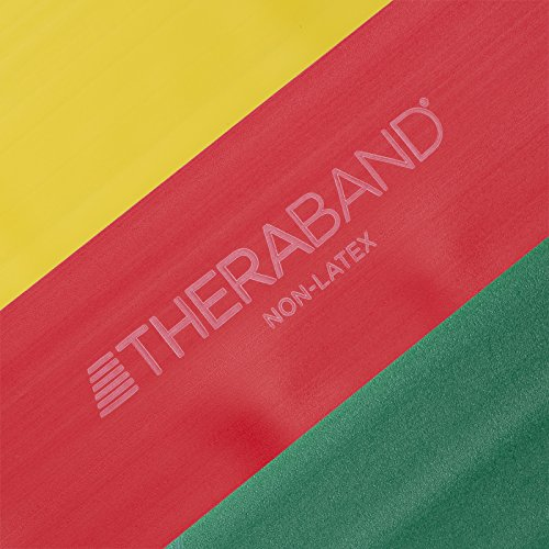 TheraBand Resistance Bands Set Professional NonLatex