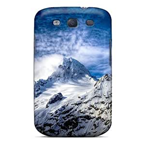 Forever Collectibles Snow Covered Mountains Hard Snap-on Galaxy S3 Case