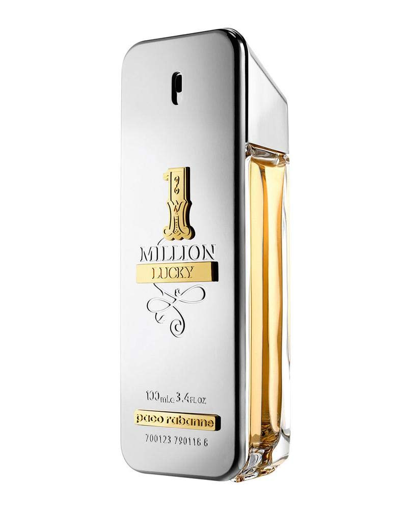 1 Million Lucky by Paco Rabanne Eau de Toilette Spray 100ml by paco rabanne (Image #3)
