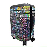 trending zebra wall decals MightySkins Skin for Away The Carry-On Suitcase - Zebra Gang | Protective, Durable, and Unique Vinyl Decal wrap Cover | Easy to Apply, Remove, and Change Styles | Made in The USA