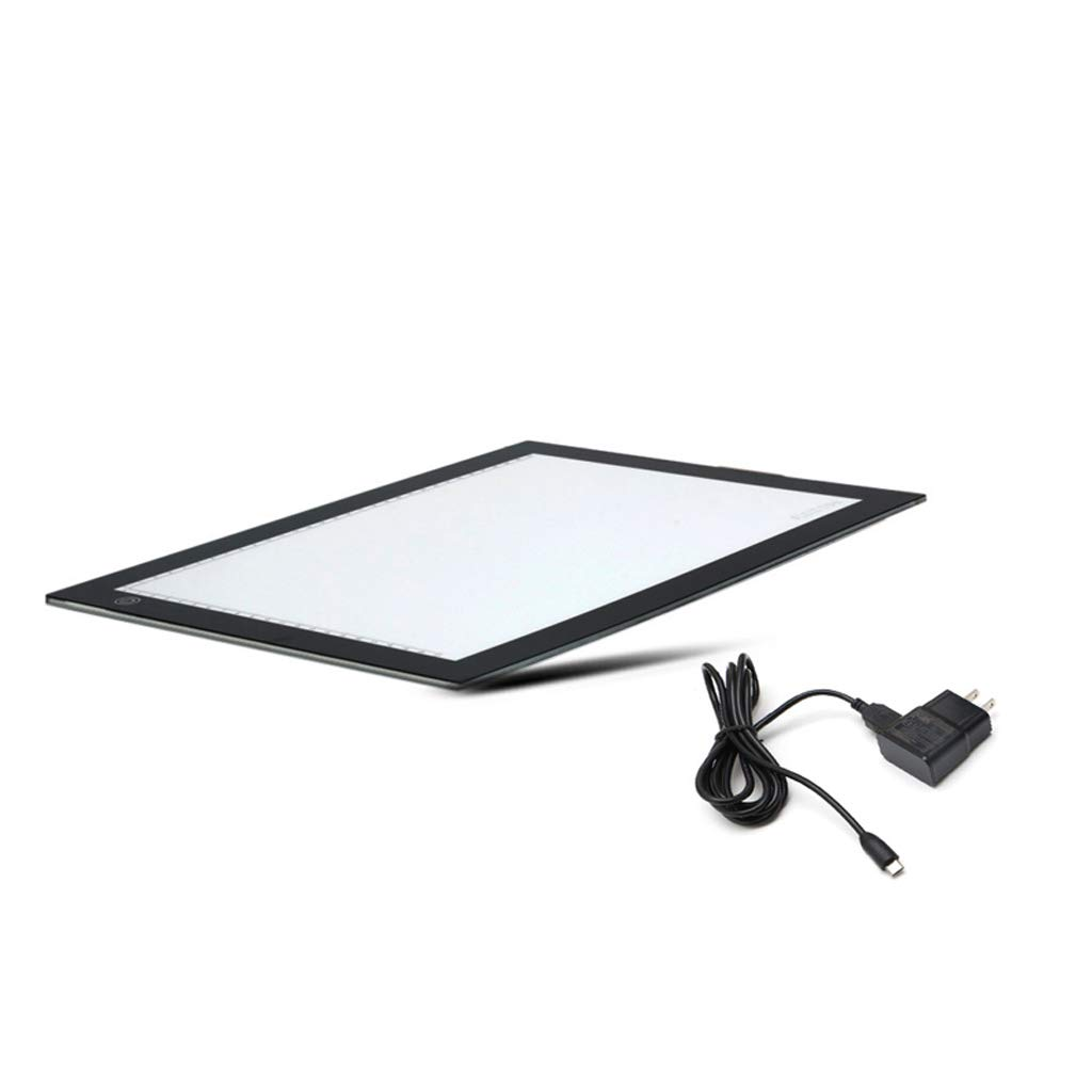 Simdoc A4 Size Ultra-Thin Portable LED Light Box Tracer A4 Tablet LED Art Embroidery Stencil Drawing Cross Stitch Kits