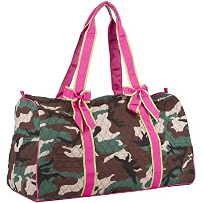best Ever Moda Camo Quilted Duffle Bag