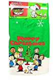 Peanut Snoopy Christmas Green Tree Skirt ~ 48 Inches