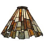 Meyda Tiffany 65632 Jadestone Delta Lamp Shade with 2