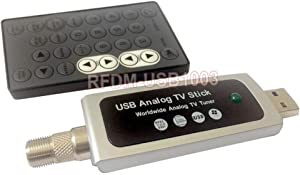 Universal RF Coax to PC USB TV Tuner DVR Adapter for CATV Satellite