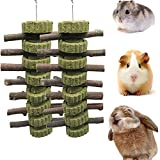 VCZONE Bunny Chew Toys, Rabbit Chew Toys for Teeth