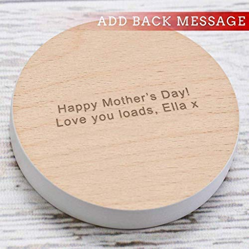 Personalised Gift For Mom Coaster I Love You A Latte Coffee Table