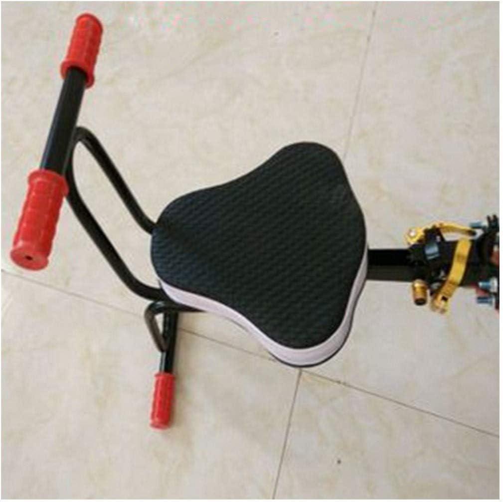 Bicicleta eléctrica Asiento para bebé Silla para niños MTB Quick Release Saddle Asiento para niños Soporte Cojín Suave Bebé con reposabrazos Pedal Ciclismo