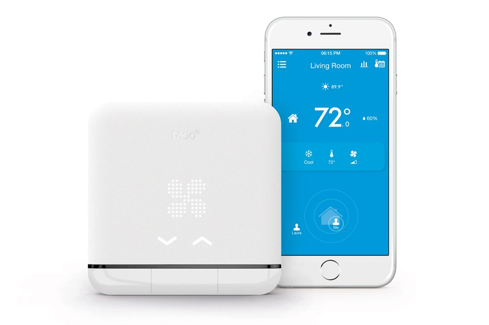 Tado Smart Air Conditioner and Heater Controller, Wi-Fi,  Compatible with iOS and Android, Works with Amazon Alexa