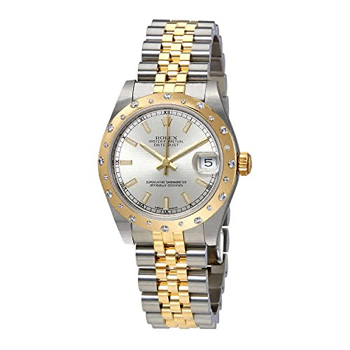 Rolex Datejust 31 Silver Dial Ladies Stainless Steel and 18kt Yellow Gold Jubilee Watch 178343SSJ