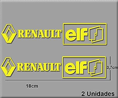 PEGATINAS RENAULT ELF R202 VINILO ADESIVI DECAL AUFKLEBER STICKERS CAR VOITURE SPORT RACING BLANCO/WHITE ECOSHIRT ARTICULOS Y VINILOS PERSONALIZADOS