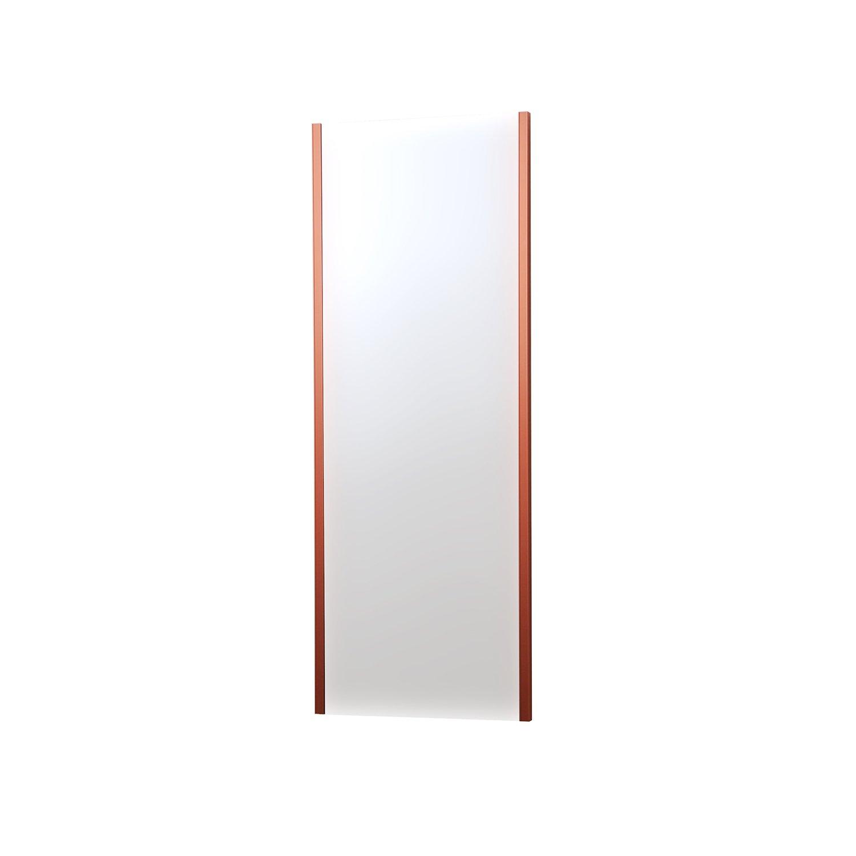 割れない鏡 refex-45120 (R) 約45×120cm ロゼ NRM-2/R 防災 飛散防止 吊式姿見 ミラー インテリアショップゆうあい B01C5H51FYロゼ(R) 吊式姿見(NRM-2) 約45×120cm
