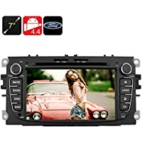 7 Inch Touchscreen Ford Car DVD Player - Bluetooth support, 2DIN, Android 4.4,Quad Core CPU, GPS, 3G, Wi-Fi