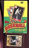1987 Topps Baseball Set Wax Pack Box PLUS Barry Bonds Rookie Card RC