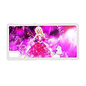 Smart Design Back Phone Cover For Xperia Z2 Sony Print With Barbie Choose Design 2