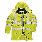 Hi-vis 7-in-1 traffic jacket (S427)(Yellow, XL)