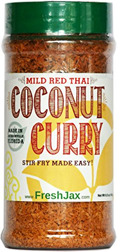 FreshJax Mild Thai Coconut Curry (Red Curry, Single) (Coconut Mild Sauce)