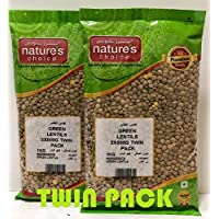 Natures Choice Green Lentils - 500 gms (Pack of 2)