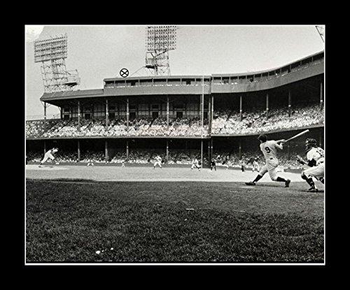 8 x 10 All Wood Framed Photo Detroit Tigers Old Stadium - Stadium Tiger Detroit Old