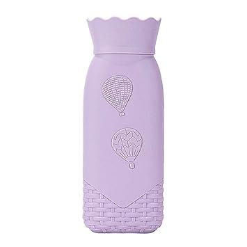 Lumon Botella Agua Caliente, Microondas Calefacción Botella ...
