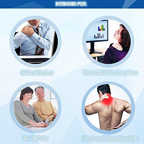 SGDOLL Hammock for Neck Pain Relief,Shoulder Muscle Relax Body Massager Hammock Stretcher, Adjustable Cervical Traction Device with a Sleeping Eye Mask, Used in Office, at Home and The Gym by SGDOLL (Image #4)