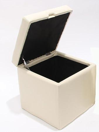 Hocker mit stauraum für schuhe  Hocker Sitzwürfel Sitzhocker Aufbewahrungsbox Onex, mit Deckel ...