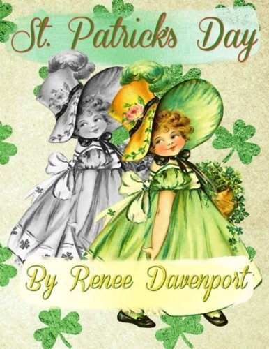St. Patrick's Day: Grayscale Adult Coloring Book