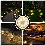 Bangcool-Luci-Solari-Giardino-8-LED-Lampada-Led-Solare-Giardino-IP67-Impermeabile-Fari-Calpestabili-Faretti-Sepolta-per-Esterno-Cortile-Vialetto-Giardino-Bordo-Piscina-4-Pezzi-Luce-calda