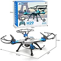 Two Years Drone Helicopter JJRC H29G 5.8Ghz FPV 2.4Gh CF Aerial 6Axis 4CH Quadcopter RTF 2MP Camera Drone