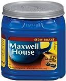 Maxwell House Slow Roast (Medium) Ground Coffee, 33-Ounce Plastic Jugs (Pack of 2)