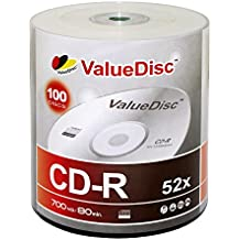 Value Disc 52X 700MB CD-R 100PK