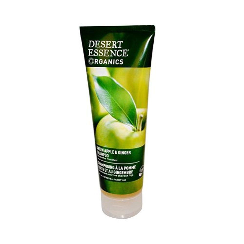 Desert Essence Shampoo Green Apple Ginger - Pack of 8
